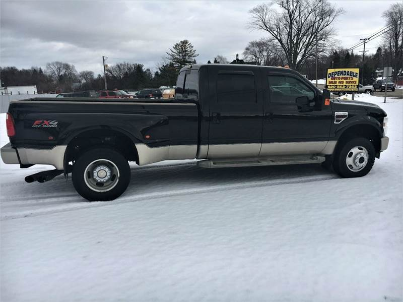 2010 Ford F-350 Super Duty 4x4 King Ranch 4dr Crew Cab 8 ft. LB DRW Pickup - Fort Atkinson WI
