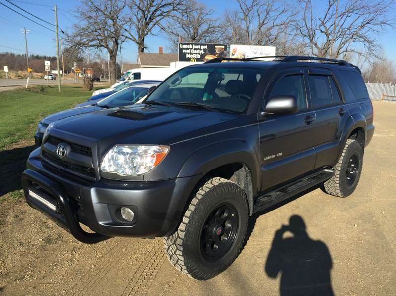2006 toyota 4runner limited 4dr suv 4wd w 4 0l v6 in fort atkinson wi dependable auto. Black Bedroom Furniture Sets. Home Design Ideas