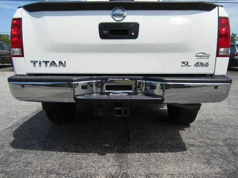 2013 Nissan Titan SL 4x4 4dr Crew Cab SWB Pickup - Holland MI