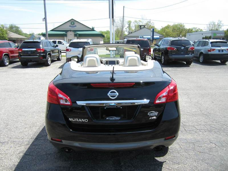 2014 Nissan Murano CrossCabriolet AWD 2dr SUV Convertible - Holland MI