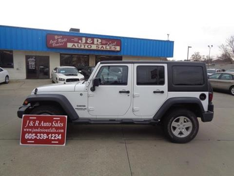 2012 Jeep Wrangler Unlimited for sale in Sioux Falls, SD
