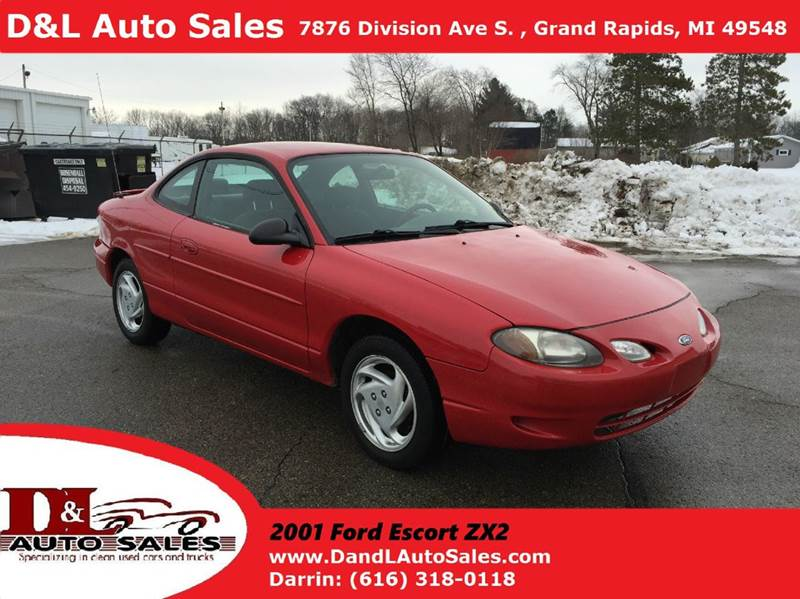 2001 ford escort zx2 2dr coupe in grand rapids mi d l auto sales. Black Bedroom Furniture Sets. Home Design Ideas