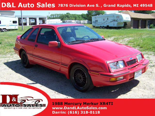 1988 Merkur XR4Ti for sale in Grand Rapids MI