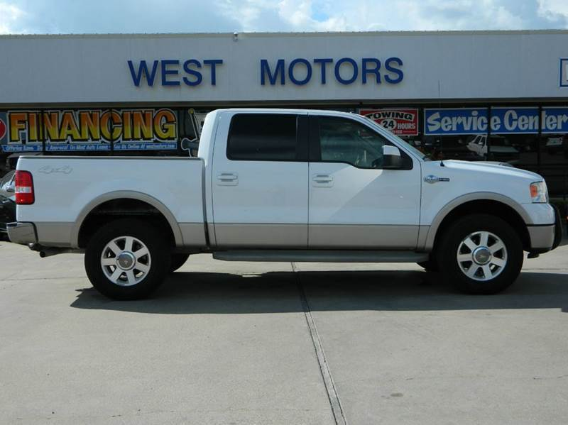 2008 Ford F 150 4x4 King Ranch 4dr Supercrew Styleside 5 5