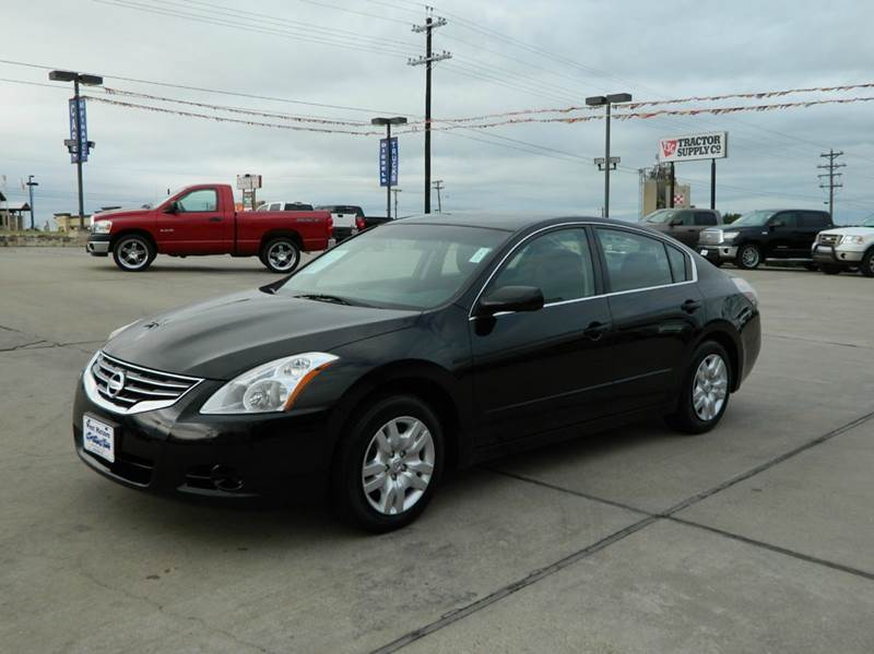 2012 nissan altima 2 5 s 4dr sedan in gonzales tx west. Black Bedroom Furniture Sets. Home Design Ideas
