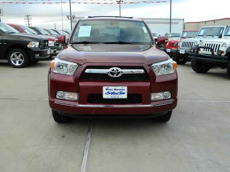 2013 Toyota 4Runner 4x2 SR5 4dr SUV - Gonzales TX