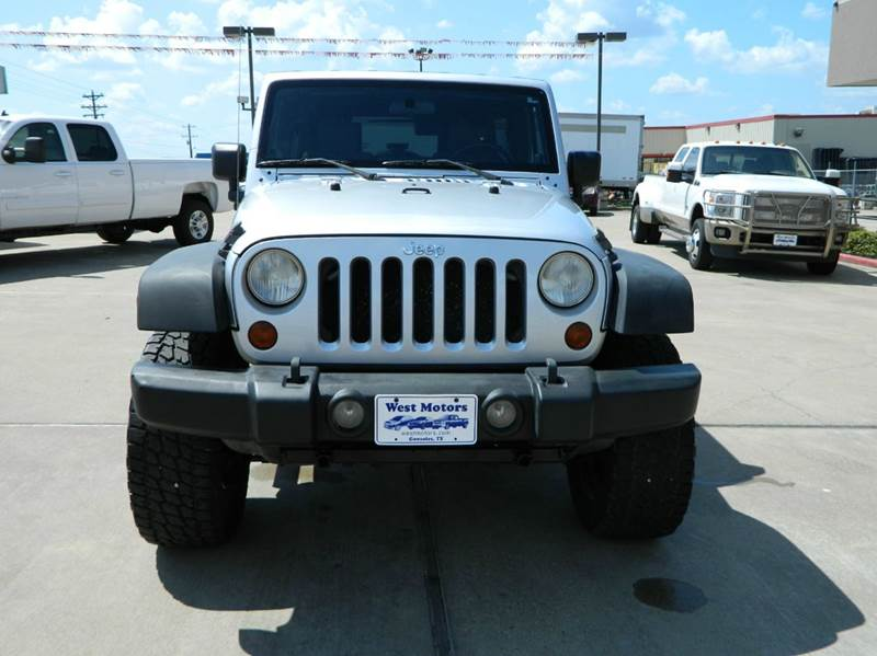2009 Jeep Wrangler Unlimited 4x4 X 4dr SUV - Gonzales TX