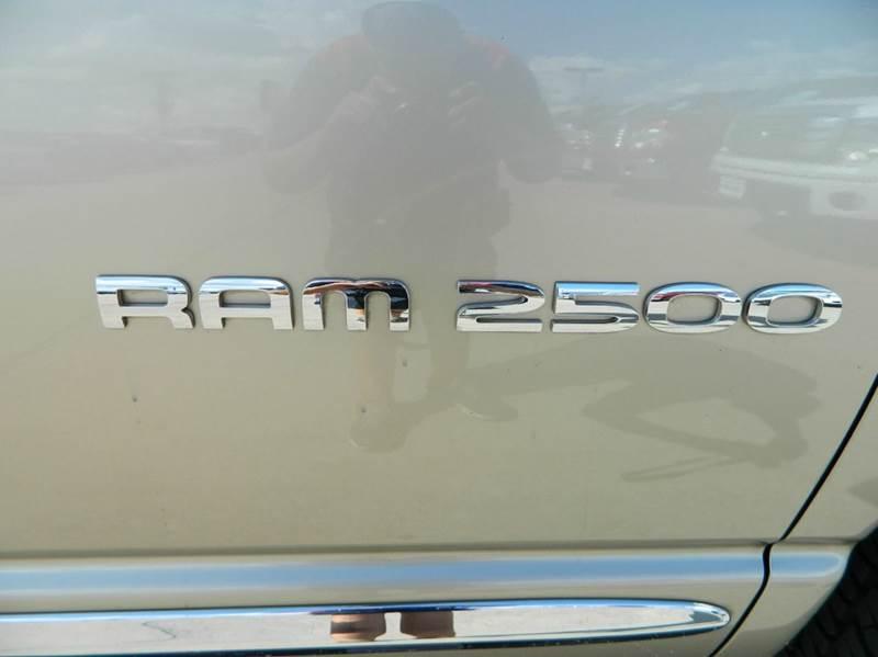 2004 Dodge Ram Pickup 2500 4dr Quad Cab Laramie Rwd LB - Gonzales TX