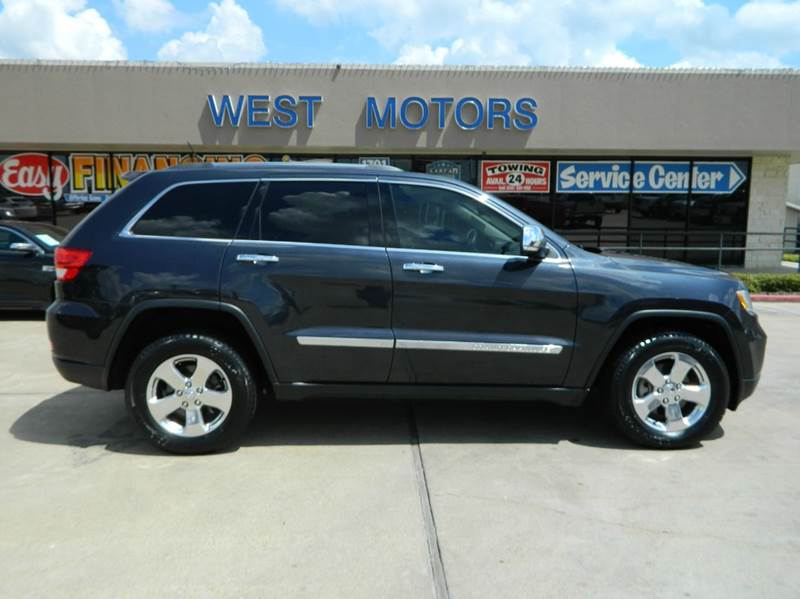 2013 jeep grand cherokee 4x2 limited 4dr suv in gonzales tx west motors. Black Bedroom Furniture Sets. Home Design Ideas