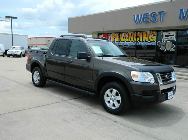 2007 ford explorer sport trac xlt 4dr crew cab v6 in gonzales tx west motors. Black Bedroom Furniture Sets. Home Design Ideas