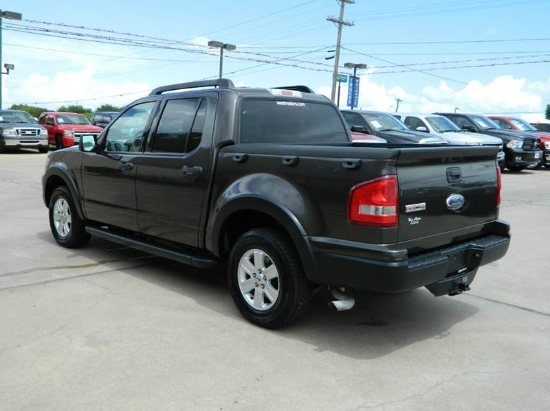 2007 ford explorer sport trac xlt 4dr crew cab v6 in. Black Bedroom Furniture Sets. Home Design Ideas