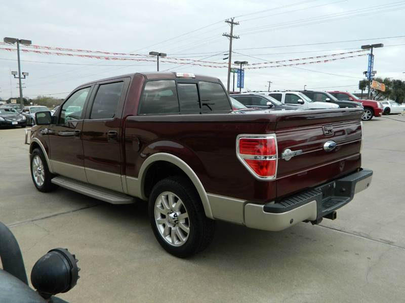 2009 Ford F-150 King Ranch 4DR SuperCrew Styleside 5.5 ft. SB - Gonzales TX
