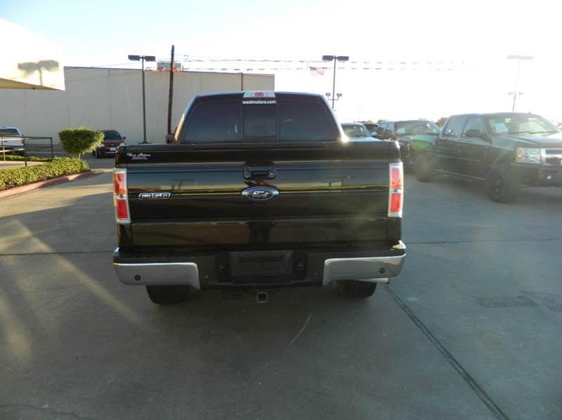 2013 Ford F-150 Lariat 4x4 4dr SuperCrew Styleside 5.5 ft. SB - Gonzales TX