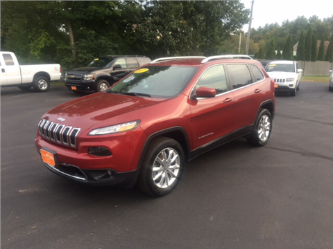 2017 Jeep Cherokee for sale in Fremont, NH