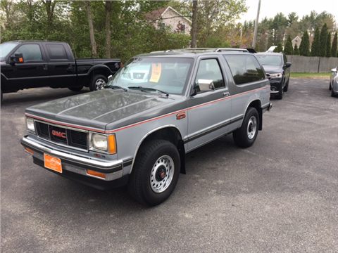 1989 GMC S-15 Jimmy for sale in Fremont, NH