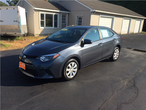 2015 Toyota Corolla for sale in Fremont, NH
