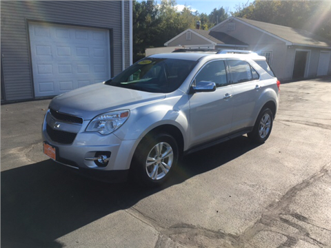 2012 Chevrolet Equinox for sale in Fremont, NH