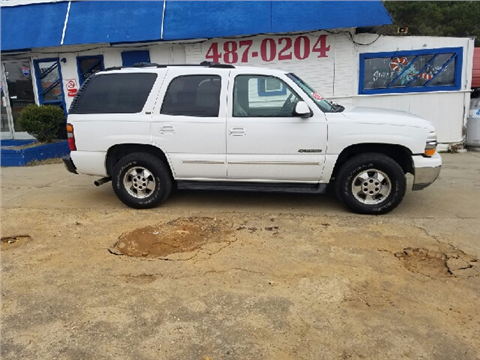 2001 Chevrolet Tahoe for sale in Fayetteville, NC