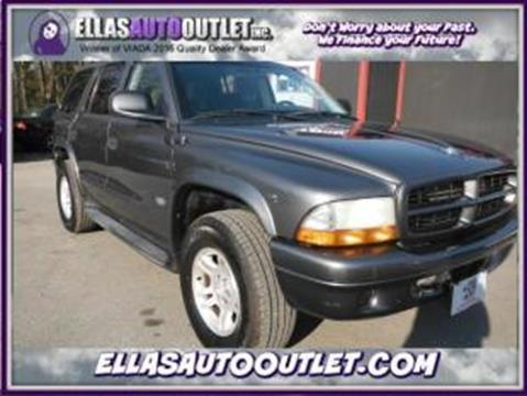 2002 Dodge Durango for sale in Thornburg, VA