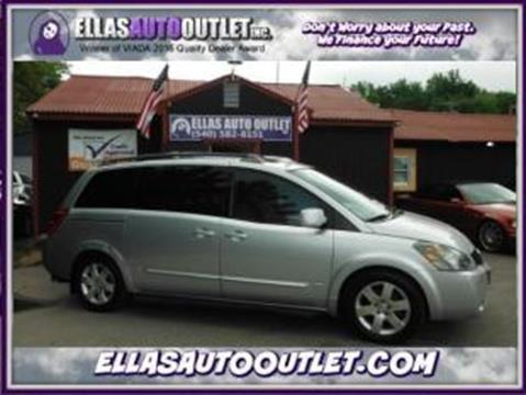 2006 Nissan Quest for sale in Thornburg, VA