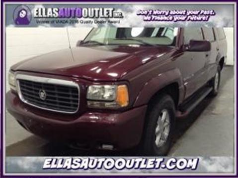 2000 Cadillac Escalade for sale in Thornburg, VA