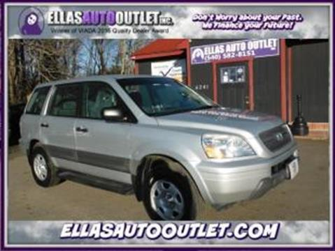 2005 Honda Pilot for sale in Thornburg, VA