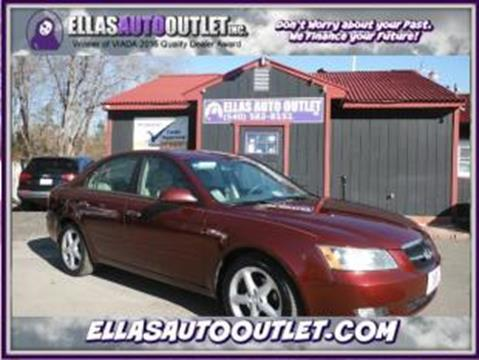 2007 Hyundai Sonata for sale in Thornburg, VA