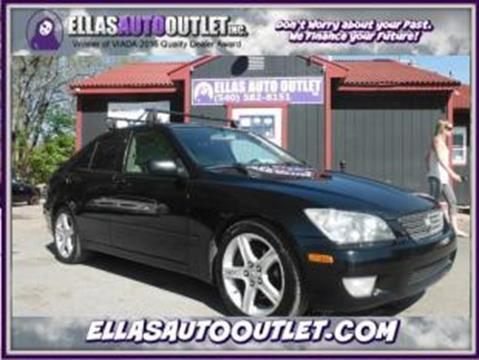 2001 Lexus IS 300 for sale in Thornburg, VA