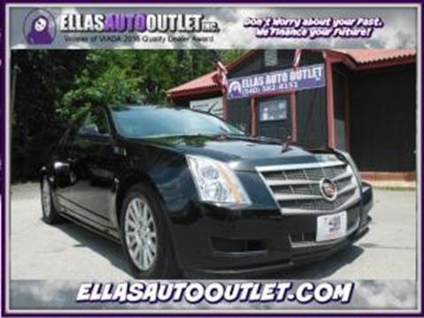 2010 Cadillac CTS for sale in Thornburg, VA