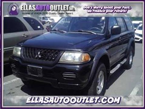 2003 Mitsubishi Montero Sport for sale in Thornburg, VA