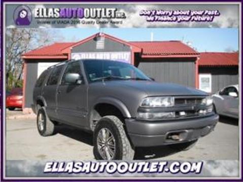 2002 Chevrolet Blazer for sale in Thornburg, VA