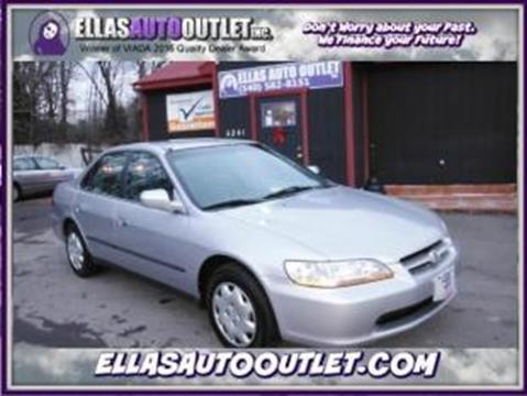 2000 Honda Accord for sale in Thornburg, VA