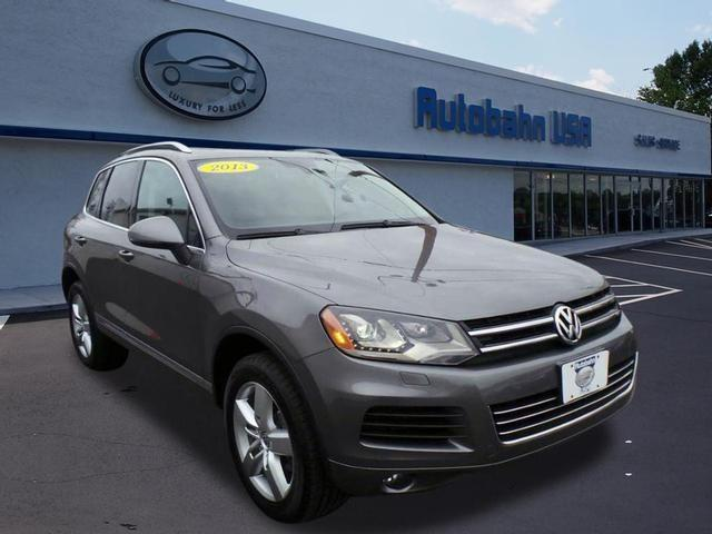2013 Volkswagen Touareg for sale in Westborough MA
