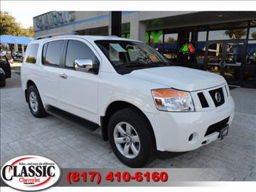 2012 nissan armada for sale in grapevine tx. Black Bedroom Furniture Sets. Home Design Ideas