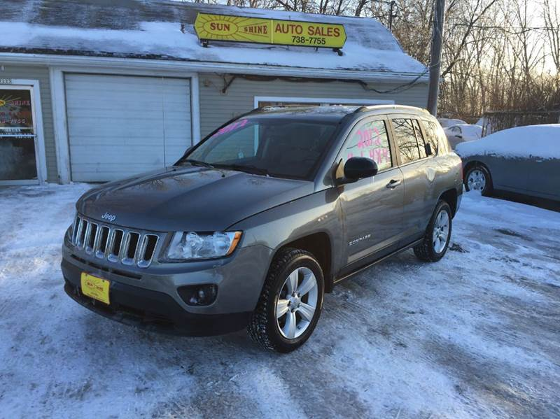 2012 jeep compass 4x4 sport 4dr suv in menasha wi. Black Bedroom Furniture Sets. Home Design Ideas