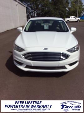 2017 Ford Fusion for sale in Union City, TN