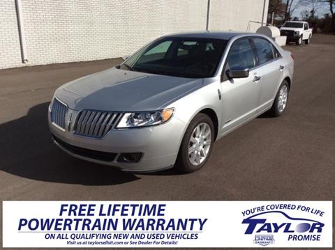 2012 Lincoln MKZ Hybrid for sale in Union City, TN