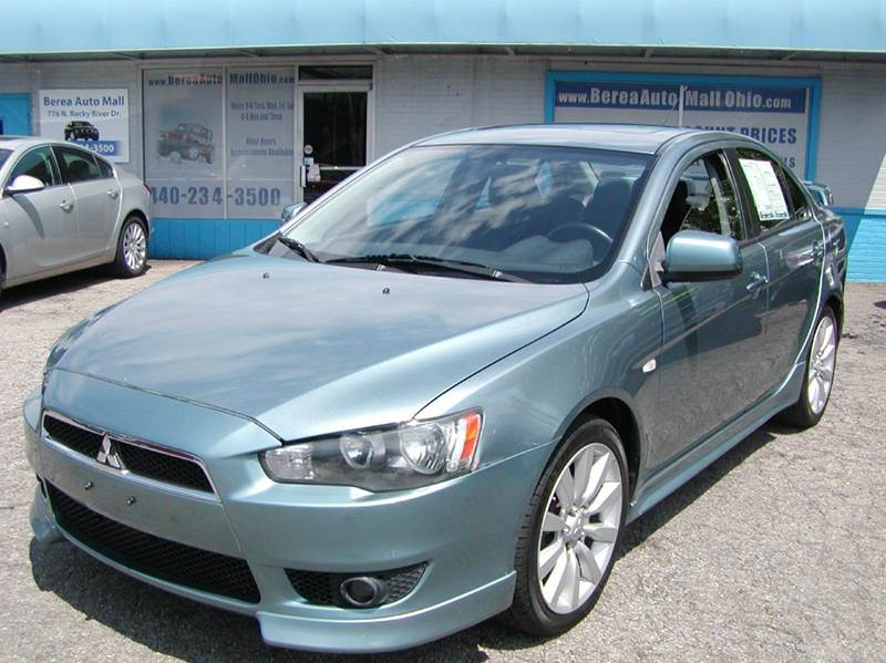 2008 Mitsubishi Lancer GTS 4dr Sedan CVT For Sale At Berea Auto Mall |  Berea, Ohio