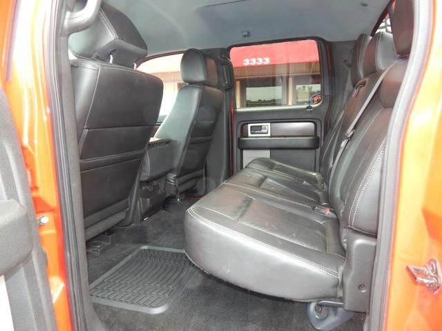 2012 Ford F-150 4x4 Lariat 4dr SuperCrew Styleside 5.5 ft. SB - Jonesboro AR