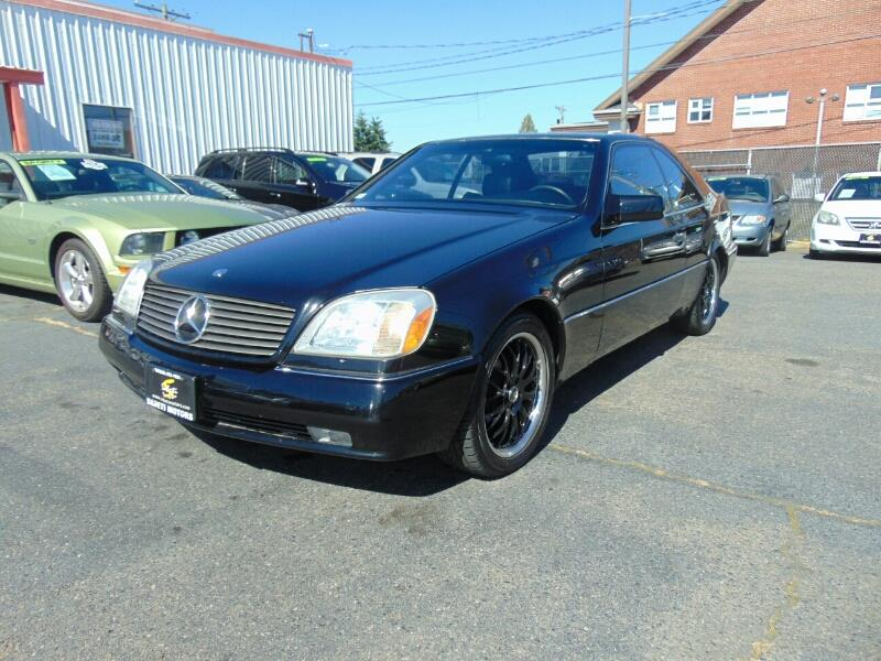 1994 mercedes benz s class s600 2dr coupe in tacoma wa for Mercedes benz of tacoma