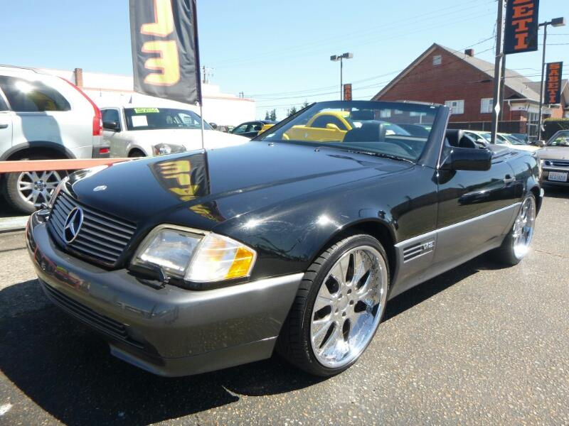 1994 mercedes benz sl class sl600 2dr convertible in for Mercedes benz of tacoma
