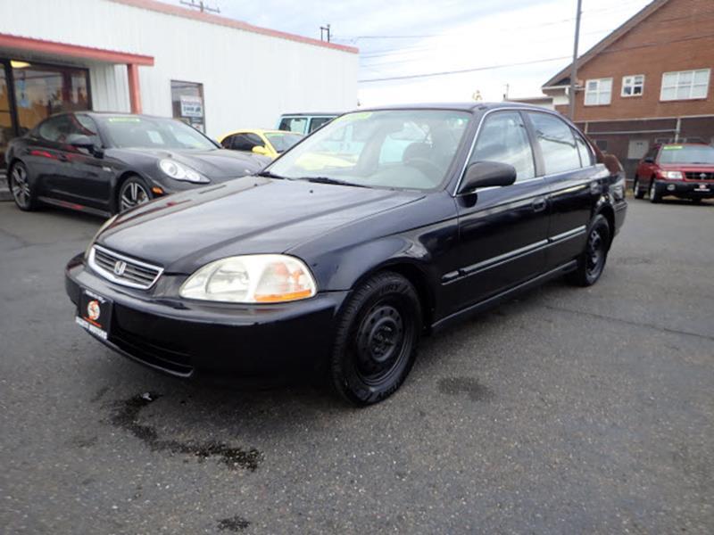 1996 Honda Civic LX 4dr Sedan   Tacoma WA