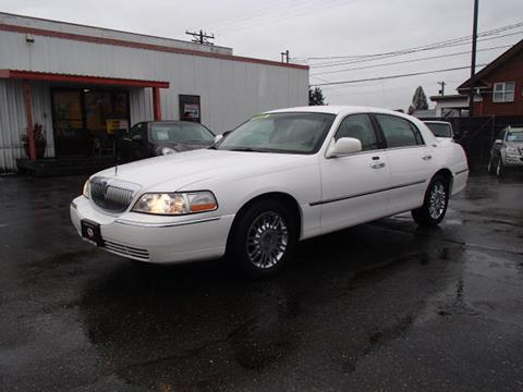 Lincoln Town Car For Sale In Edmonds Wa Carsforsale Com
