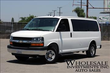 2015 Chevrolet Express Passenger for sale in Tacoma, WA