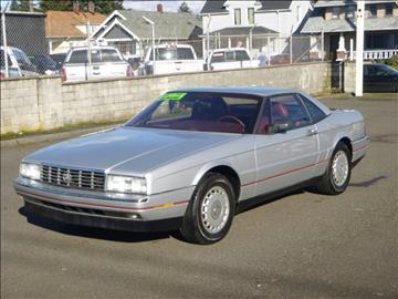 1987 Cadillac Allante for sale in Tacoma, WA