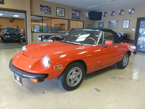 Alfa Romeo Spider For Sale In Duluth MN Carsforsalecom - 1980 alfa romeo spider for sale