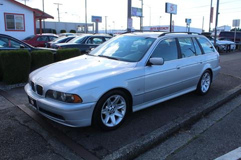 2002 BMW 5 Series for sale in Tacoma, WA