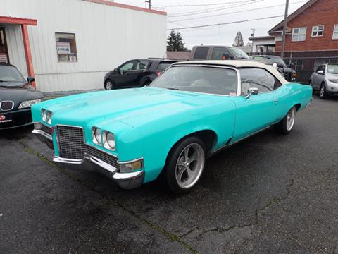 1973 Pontiac Grand Ville for sale in Tacoma, WA