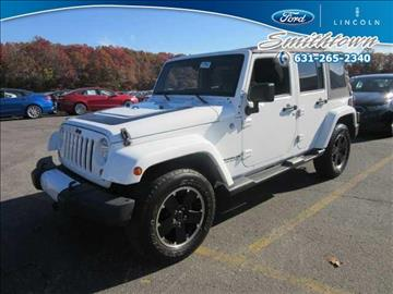 2012 Jeep Wrangler Unlimited for sale in Saint James, NY