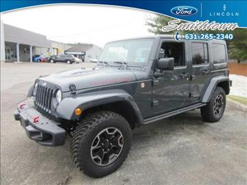 2016 Jeep Wrangler Unlimited for sale in Saint James, NY
